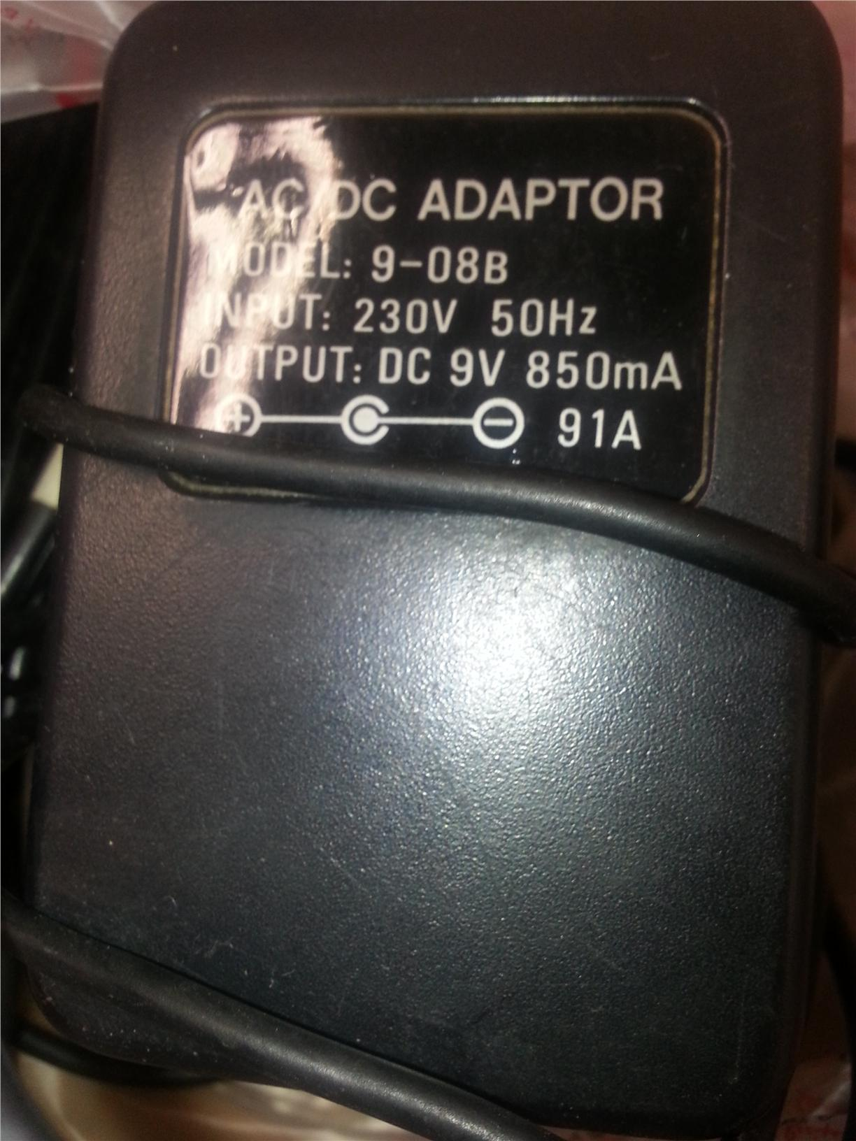 Cable AC to DC Adaptor (Inc Postage)