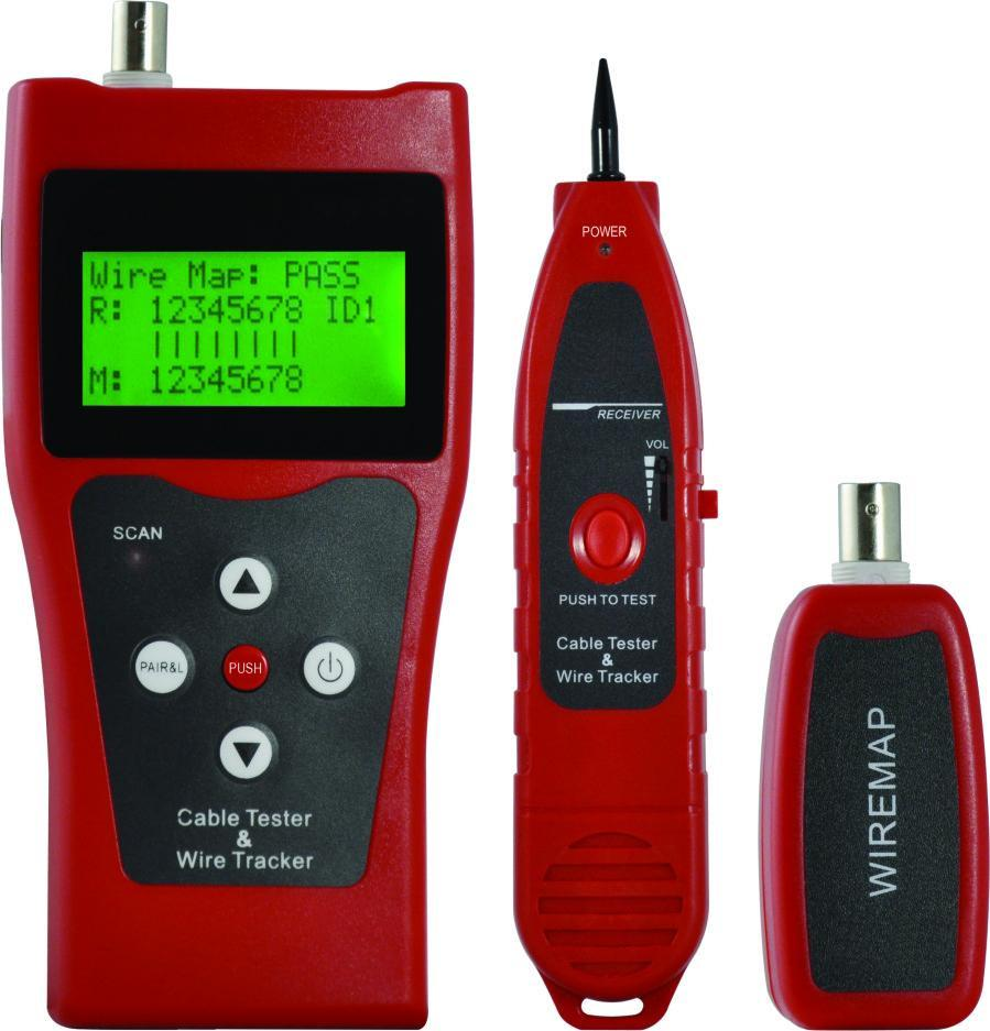 Truck Cable Fault Locator : Cable tester wire tracker end pm