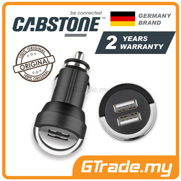 CABSTONE 3.1A Dual USB Car Charger Lenovo ASUS Zenfone Nokia LG