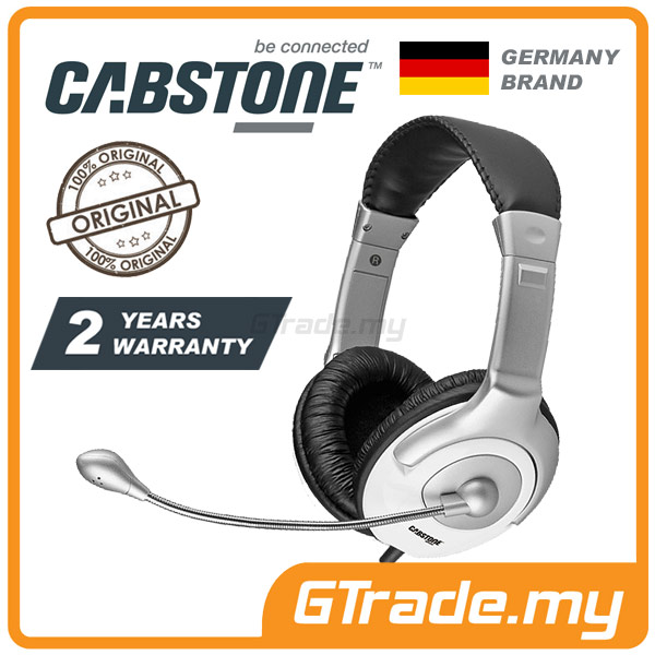CABSTONE Comfort Gaming Headset | Pro E-Sports Cyber Gamer