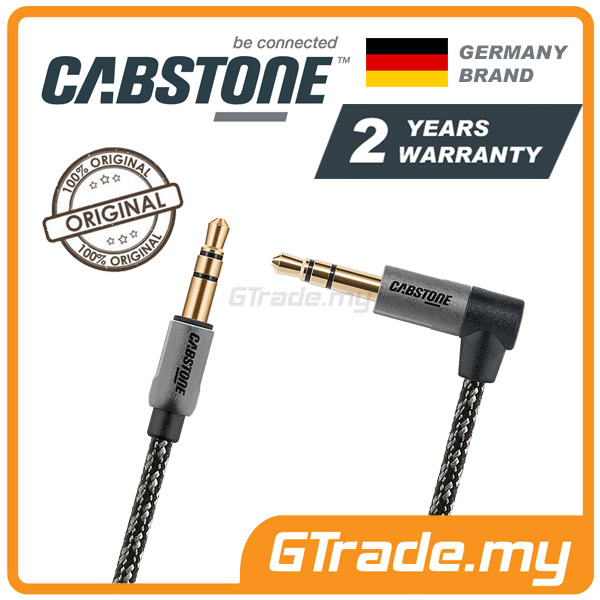 CABSTONE Metal Audio 3.5mm Jack Cable 1M | iPhone iPad & others