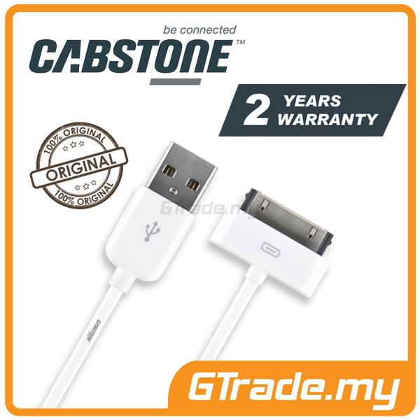 CABSTONE Sync Charger USB Cable 30-PIN | Apple iPhone 4S 4 3GS 3 iPod