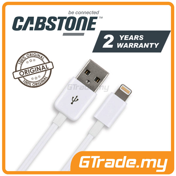 CABSTONE Sync Charger USB Cable Lightning Apple iPad Mini Retina 3 2 1