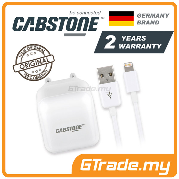 CABSTONE Travel Wall Cable Charger Lightning | Apple iPad Mini 3 2 1