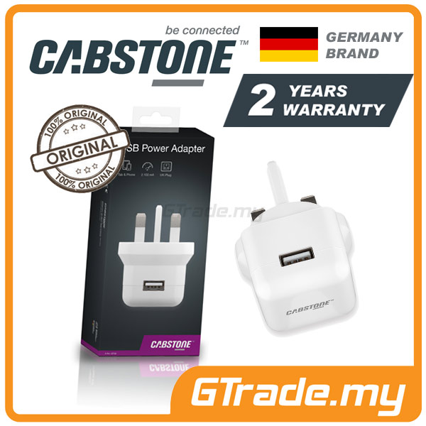 CABSTONE Travel Wall Charger Adapter Apple iPhone 4S 4 3GS 3 iPod