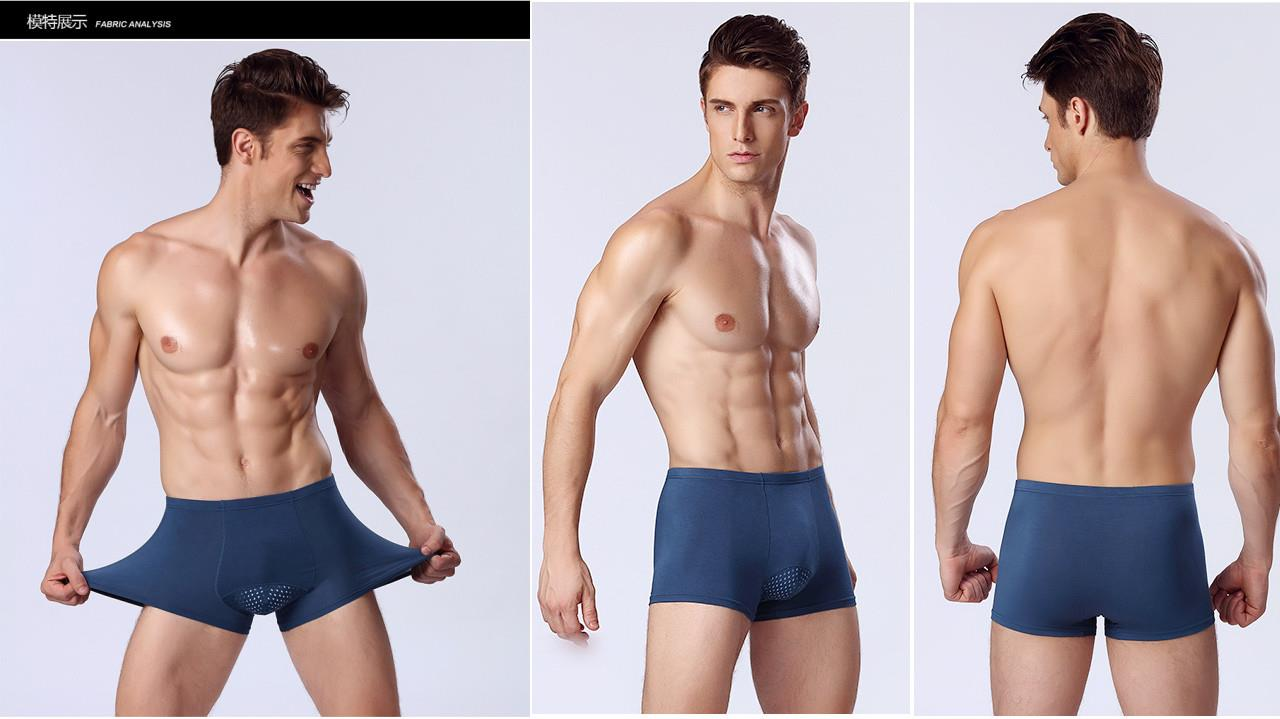 Caikt Quick Dry breathable underwear boxer gift set (4 in 1)