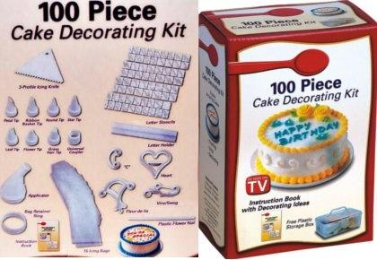 Cake Decorating Kit 100 pieces