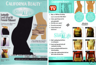 California Silhouette SLIM & LIFT,Get In SexY Shape Today ! FREE BONUS