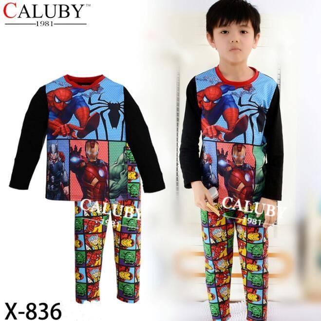 Caluby Avengers Kids Pyjamas/ sleeping wear (2Y - 7Y)