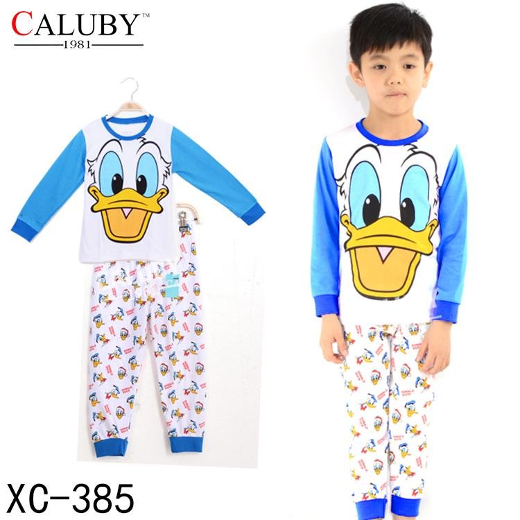 Caluby Boy's Donald Duck Sleeping Wear