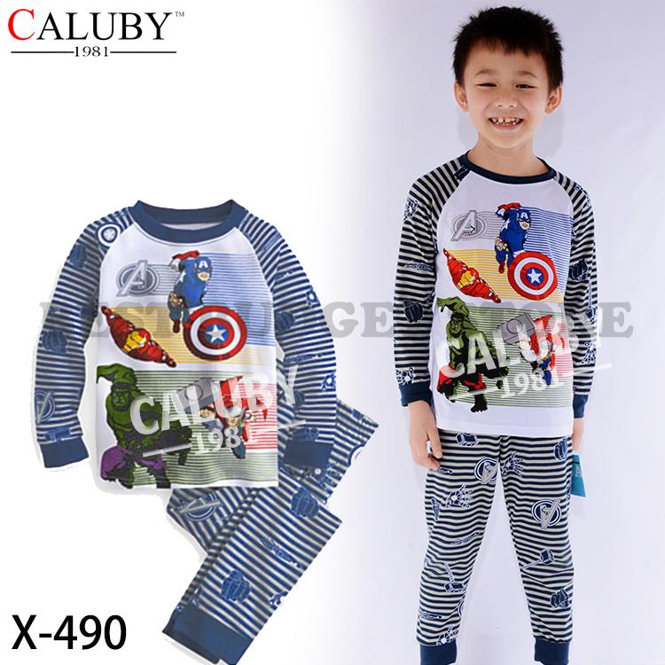 Caluby Disney Marvel Super Heroes Kids Pyjamas/sleeping wear