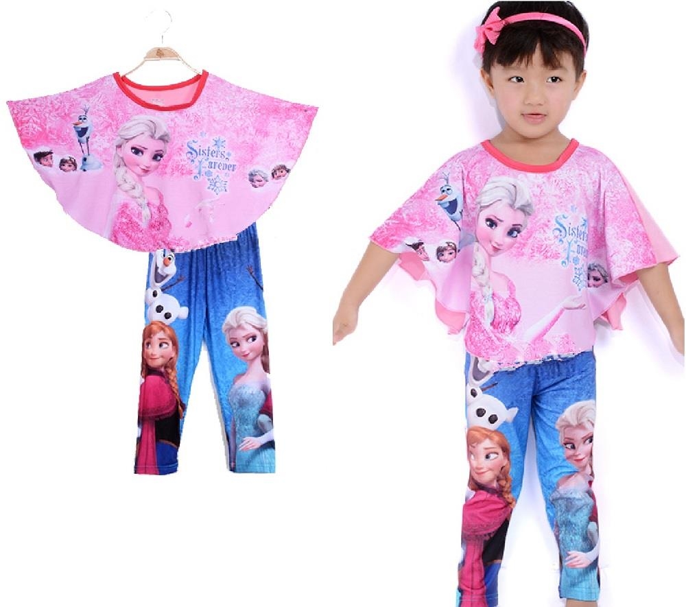 Caluby Frozen Kids Pyjamas/ sleeping wear