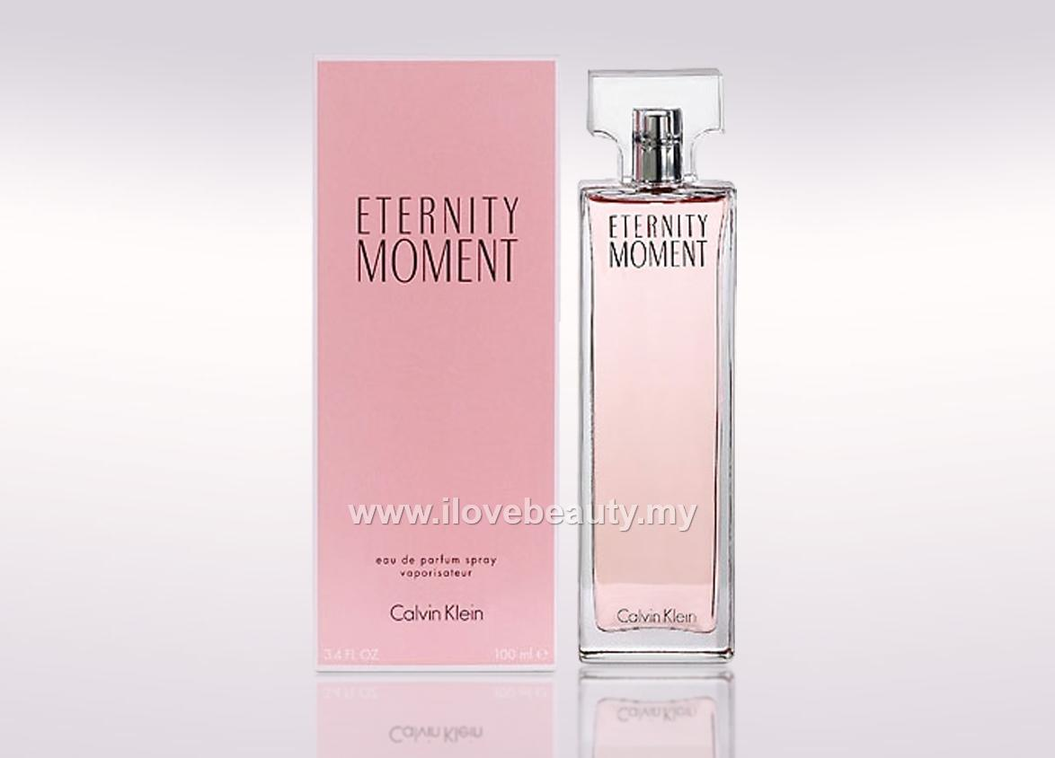 CALVIN KLEIN CK ETERNITY MOMENT - WOMEN EDP 100ml * ORIGINAL PERFUME *