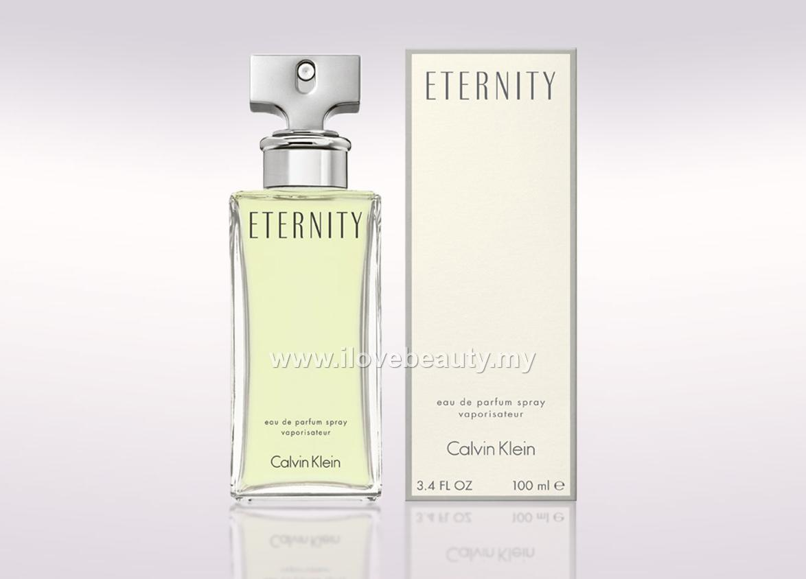 CALVIN KLEIN CK ETERNITY - WOMEN EDP 100ml *** ORIGINAL PERFUME ***
