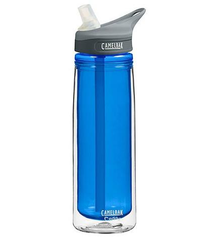 CAMELBAK EDDY INSULATED 0.6L WATER BOTTLE - COBALT