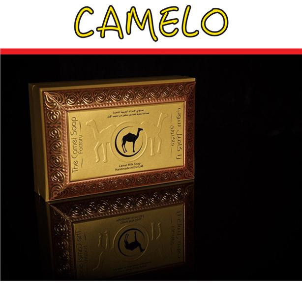 CAMELO Camel Milk 2xAROMATIC WOOD Luxury Oriental Soap + GIFT BOX