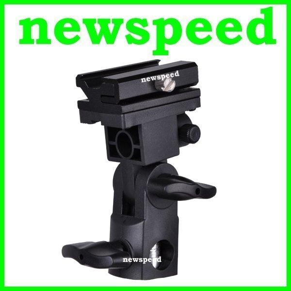 New Camera Flash Hot Shoe Holder Umbrella Light Stand Mount B