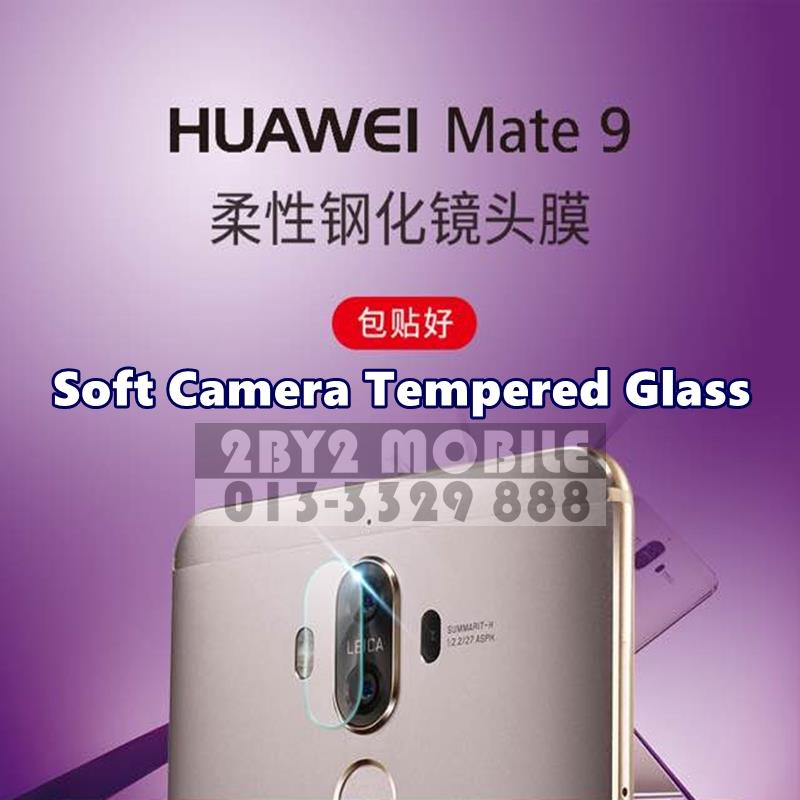 Camera Soft Tempered Glass for Huawei Mate 9 camera