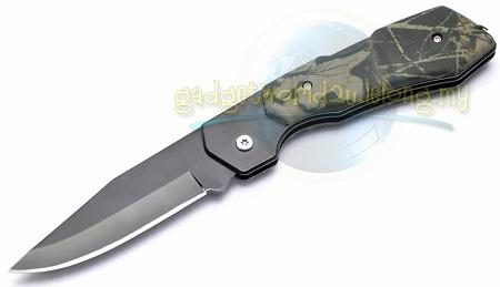 Camo Design Foldable Knife