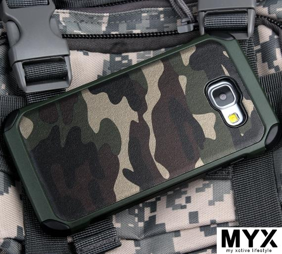 Camouflage Samsung (2016) A7100 Drop Resistance Casing Case Cover