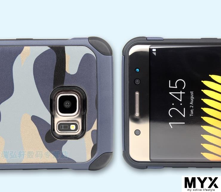Camouflage Samsung NOTE 7 Drop Resistance N9300 Casing Case Cover