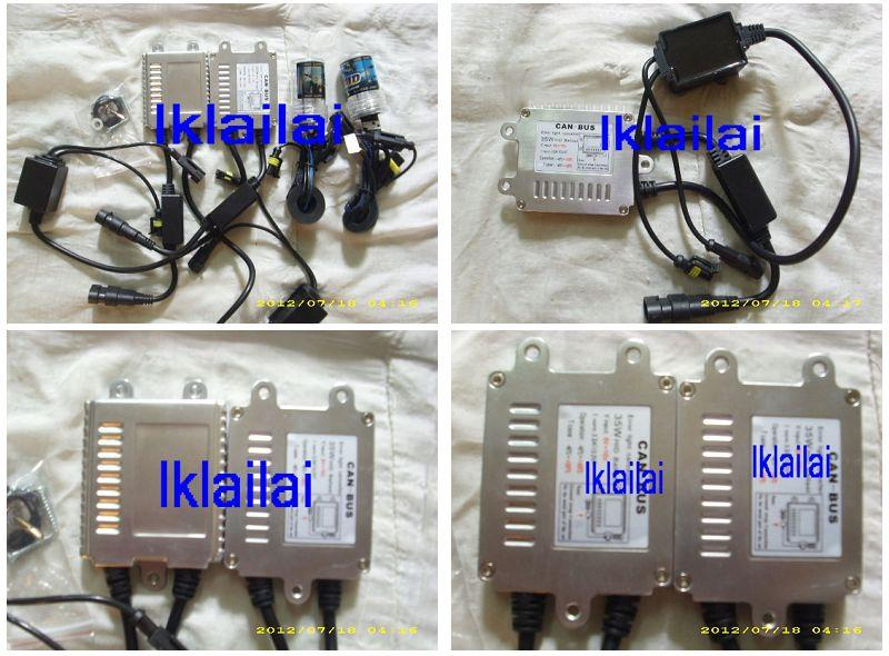 CAN-Bus HID Conversion Kit 35W For Benz/BMW/Volkswagen/Audi