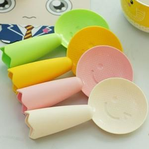 Can Stand Smile Face Plastic Non-stick Rice Paddle