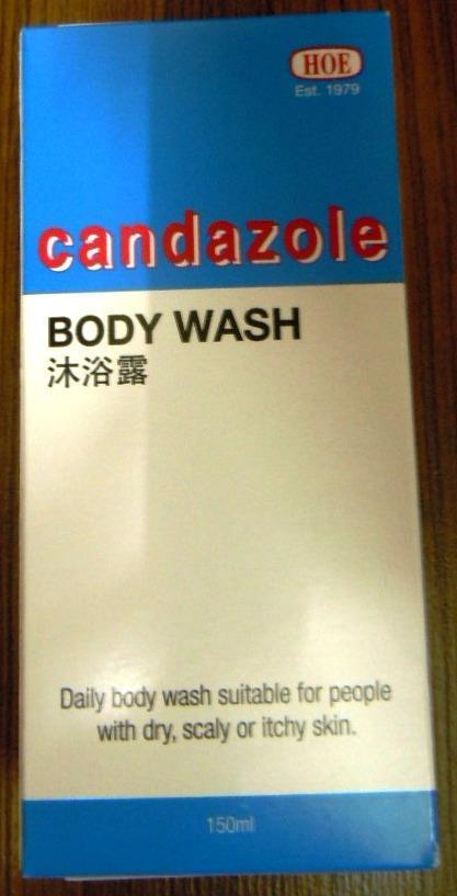 Candazole Body Wash (150ml) (For Itchy Skin/ Fungal Infection)