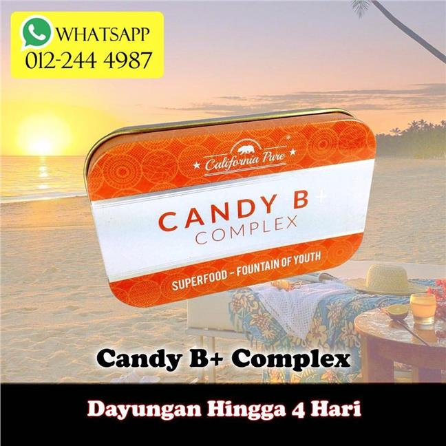 Candy B Plus + Complex Original USA / KKM