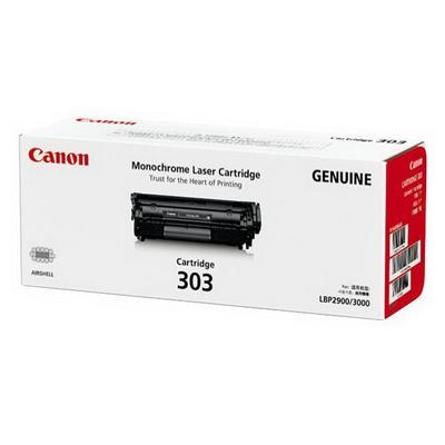 Canon 303 (Genuine) Toner Cartridge (LBP 2900/ 3000)