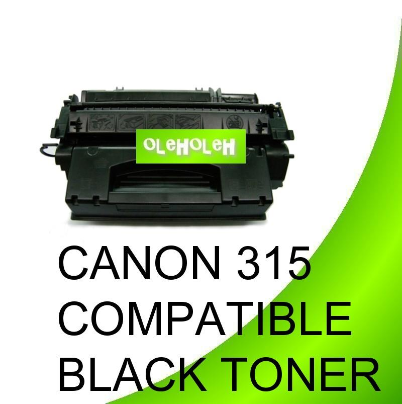 Canon 315 Compatible Black Toner For Canon Laser Printer LBP3310