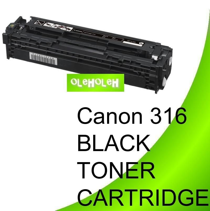 Canon 316 Black Compatible Toner Cartridge LBP5050 MF8030 MF8050