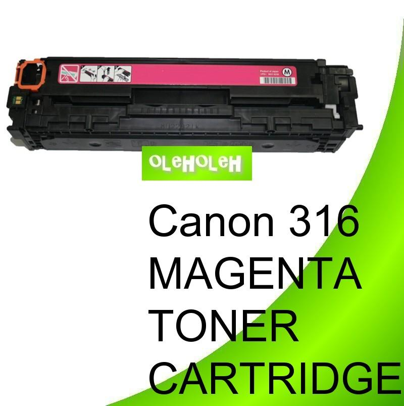 Canon 316 Magenta Compatible Toner Cartridge LBP5050 MF8030 MF8050