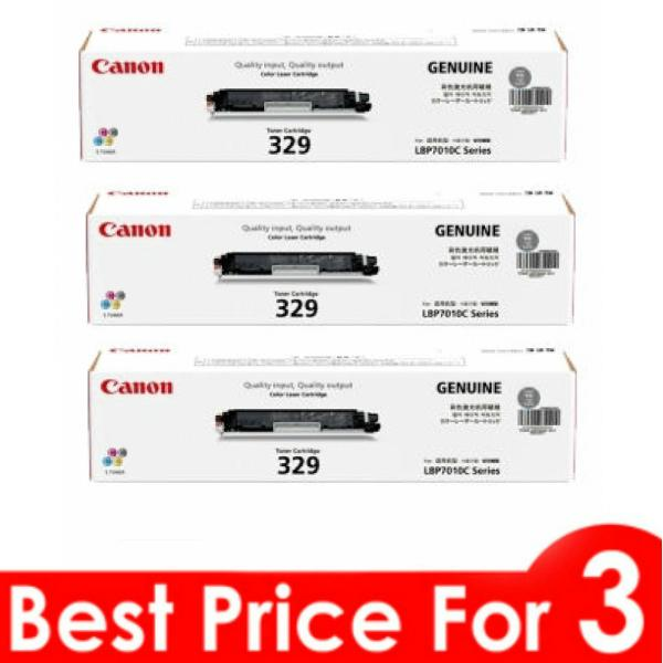 Canon 329 Compatible Toner Cartridge - Black (3 Unit)