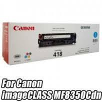 Canon 418 Cyan Toner (Genuine) MF8350CDN