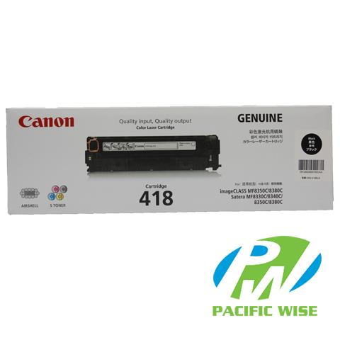 Canon 418 Toner Cartridge Black (Original)