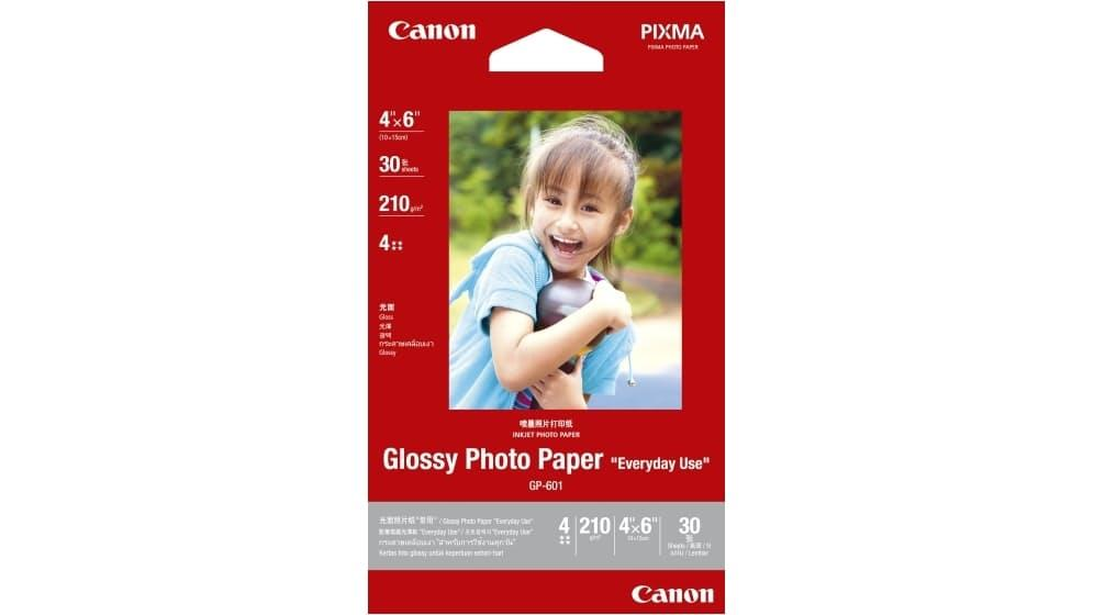 Canon 4R Glossy Photo Paper GP-601 (30sheets)