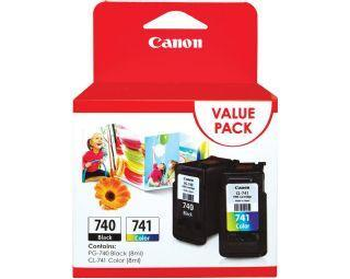 Canon Black & Colour Combo Ink, PG-740 & CL-741