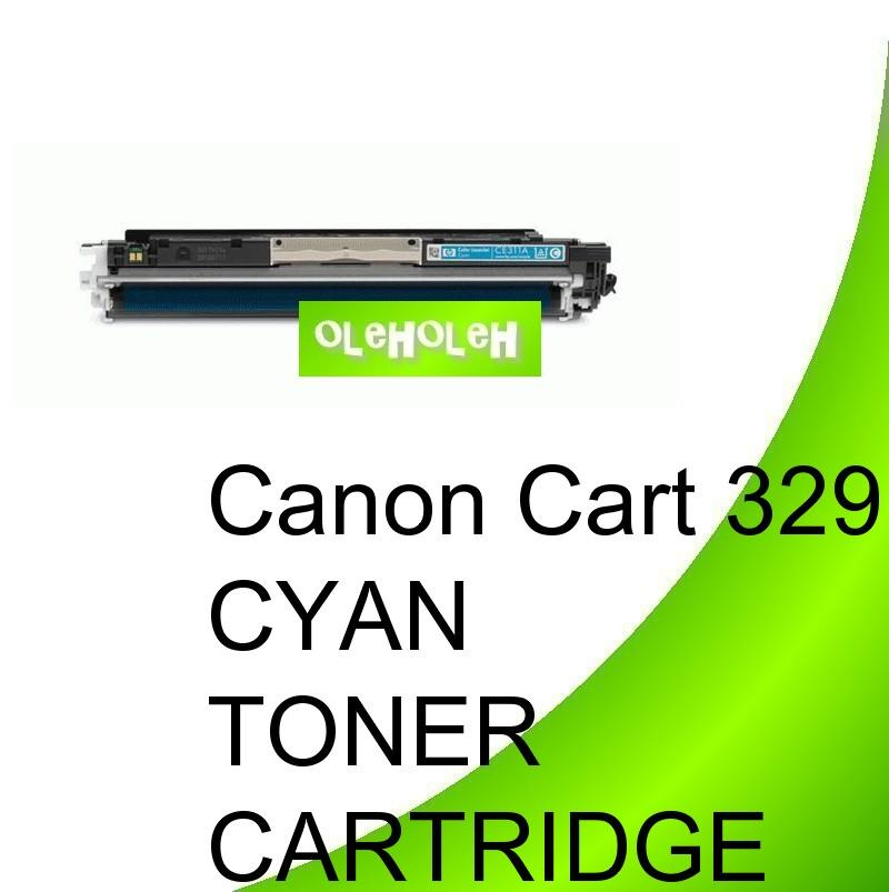 Canon Cart 329 Compatible Cyan Toner For Canon LBP7010 LBP7018c
