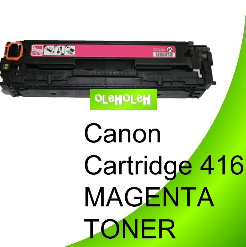 Canon Cartridge 416 Compatible Magenta Toner MF8030CN MF8050CN