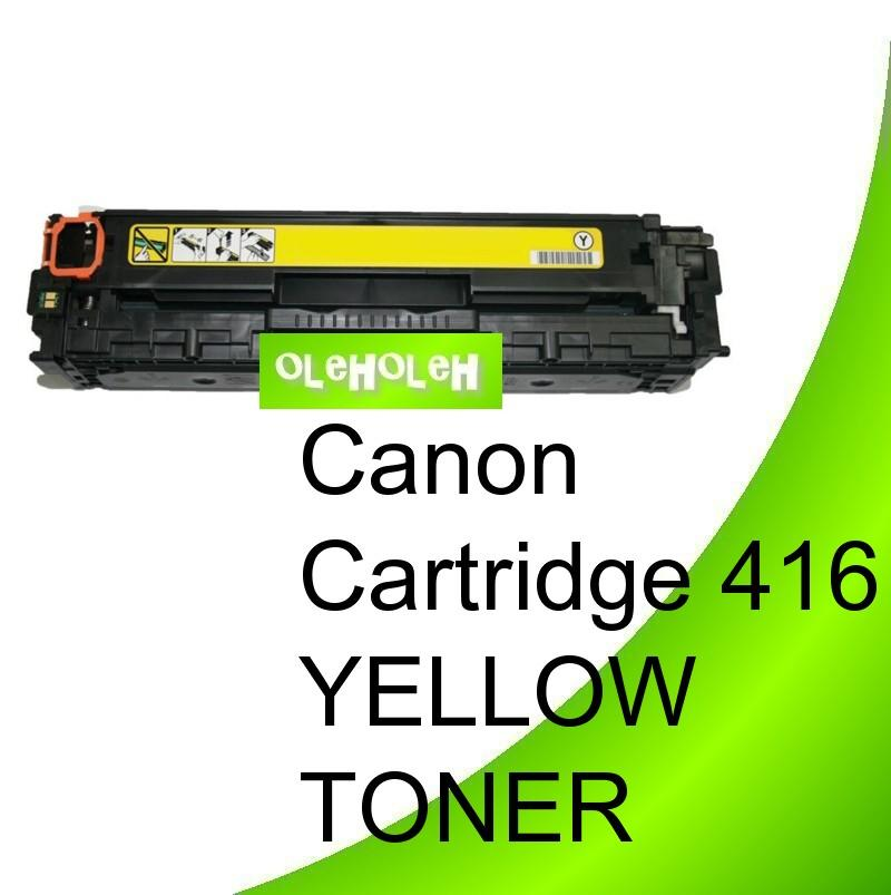 Canon Cartridge 416 Compatible Yellow Toner MF8030CN MF8050CN