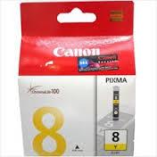 Canon CLI-8Y YELLOW Ink (Genuine) 4200 4300 4500 5200 5300 6600 6700 8