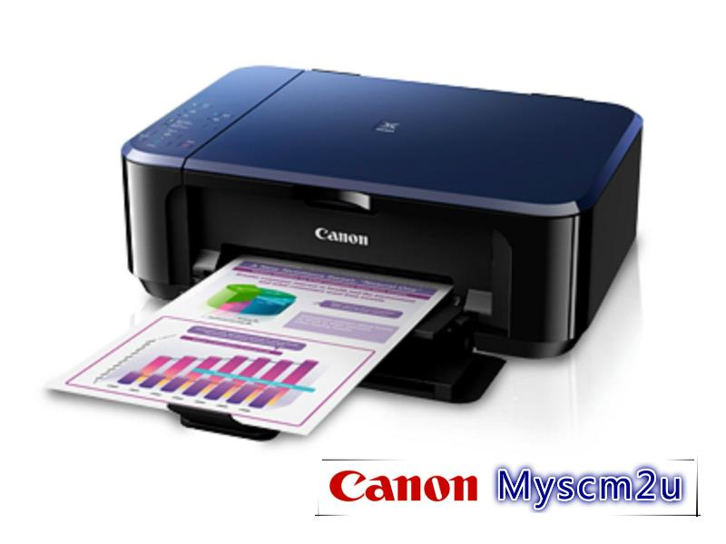 Canon E510 3 In 1 Inkjet Printer + 3yrs Warranty E 510