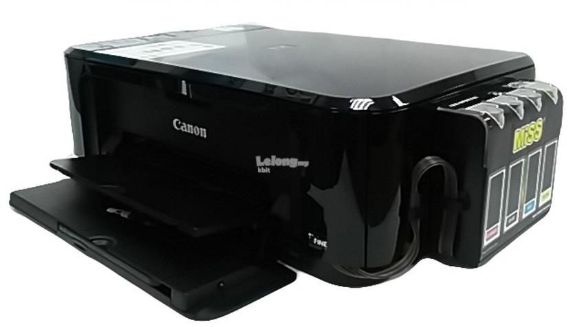 Canon E510 All-In-One Printer & MiSS Tank