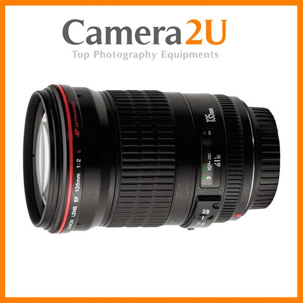 NEW Canon EF 135mm f/2L USM