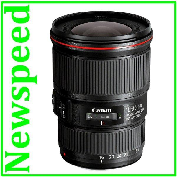 New Canon EF 16-35mm F4 L IS USM Lens (Import)