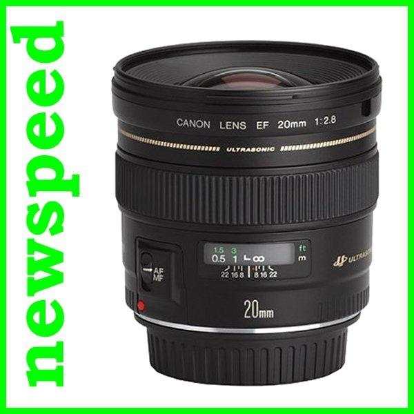 New Canon EF 20mm F2.8 USM EF20mm Lens (Import)