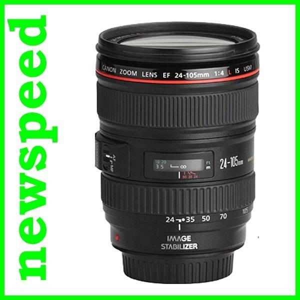 New Canon EF 24-105mm F4 L IS USM Lens (Canon Msia)