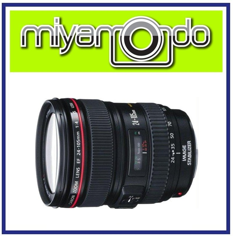 NEW Canon EF 24-105mm F4L IS USM Lens
