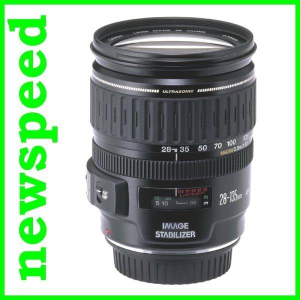 New Canon EF 28-135mm F3.5-5.6 IS USM Lens (Canon MSIA)